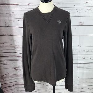 Abercrombie & Fitch brown Long Sleeve Small shirt